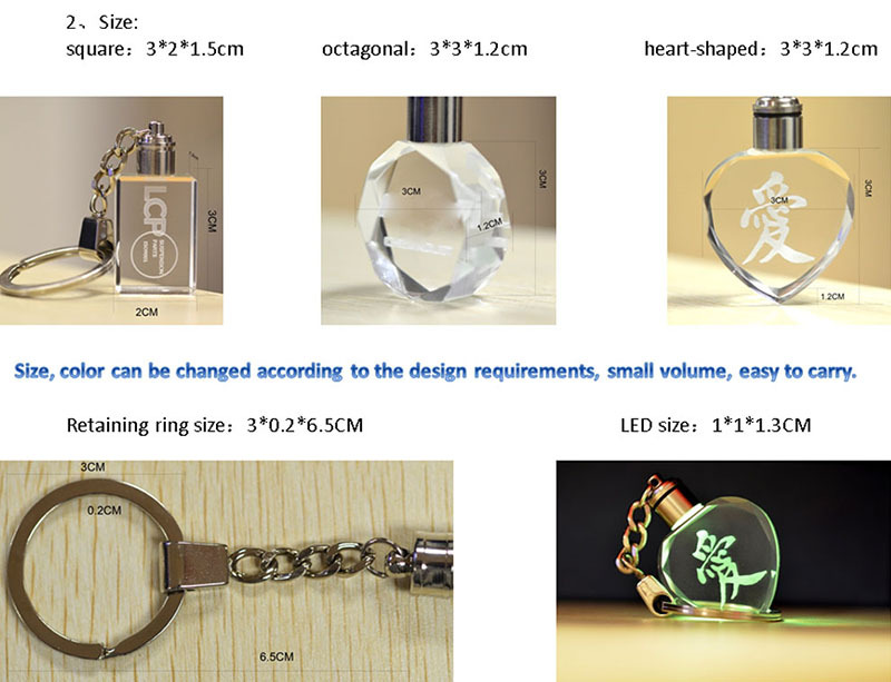 Car Logo Key Ring Crystal