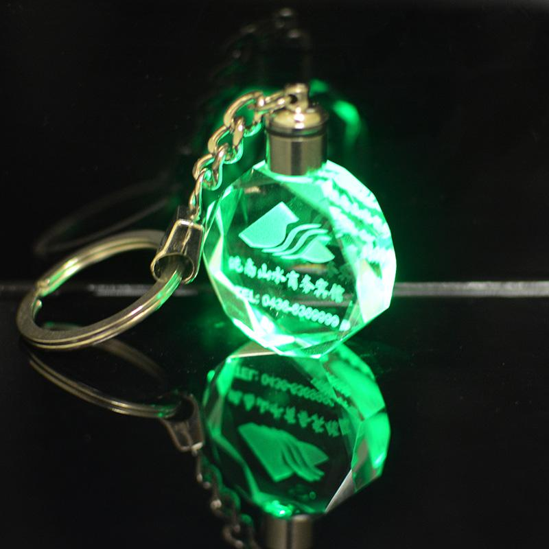 New fashion customized crystal keychains
