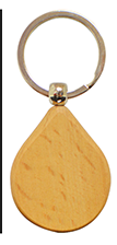 wood keychain