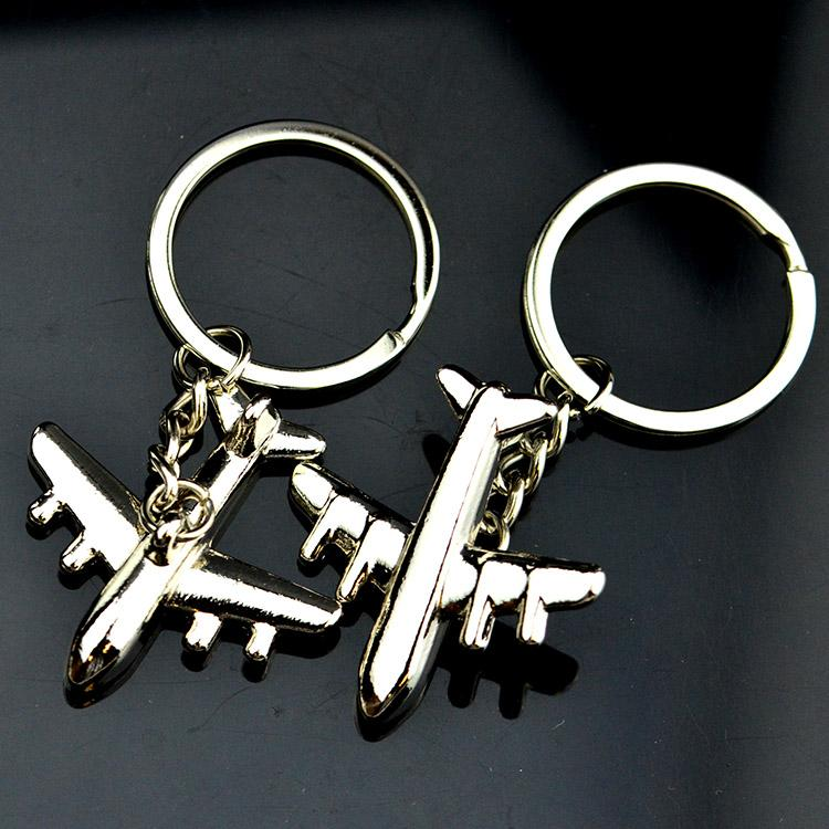 Manufacturer China Bulk Metal Cheap Personalised Keyrings Gifts