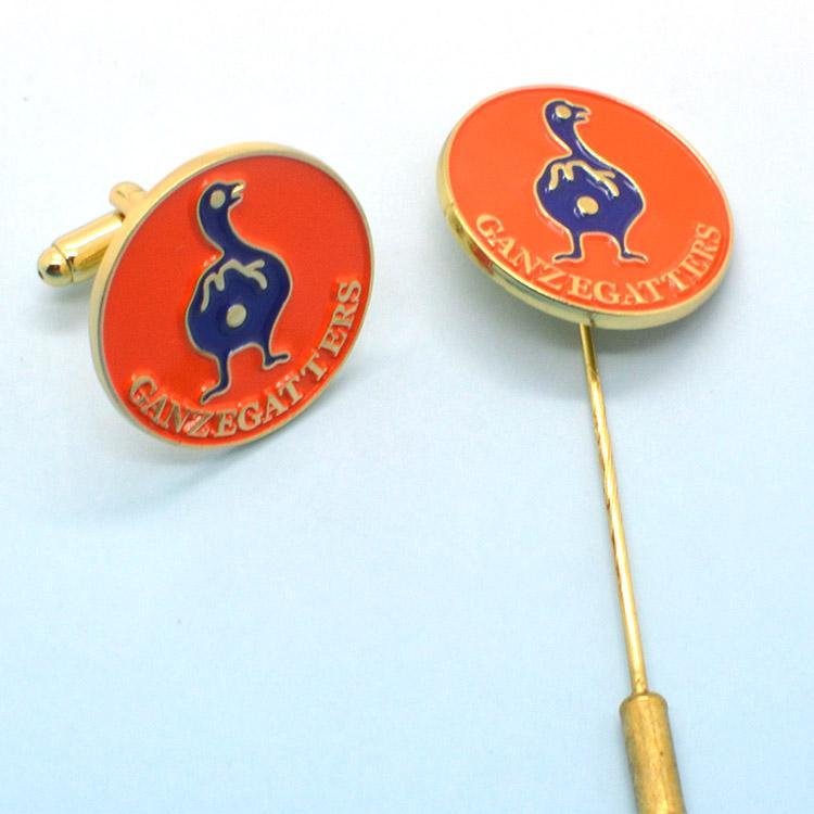 Cheap Custom Bulk Blank Metal Hard Enamel Brooch Pin - Metal