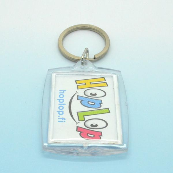 Cheap Keyring Maker Bulk Custom Printed Photo Keychain