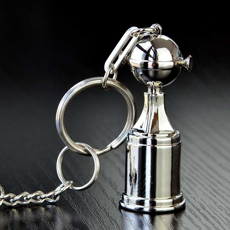 High Quality Cheap Engravable Keychains Sterling Silver