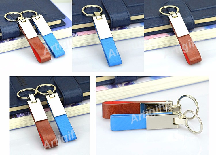 Bulk Leather Key Ring
