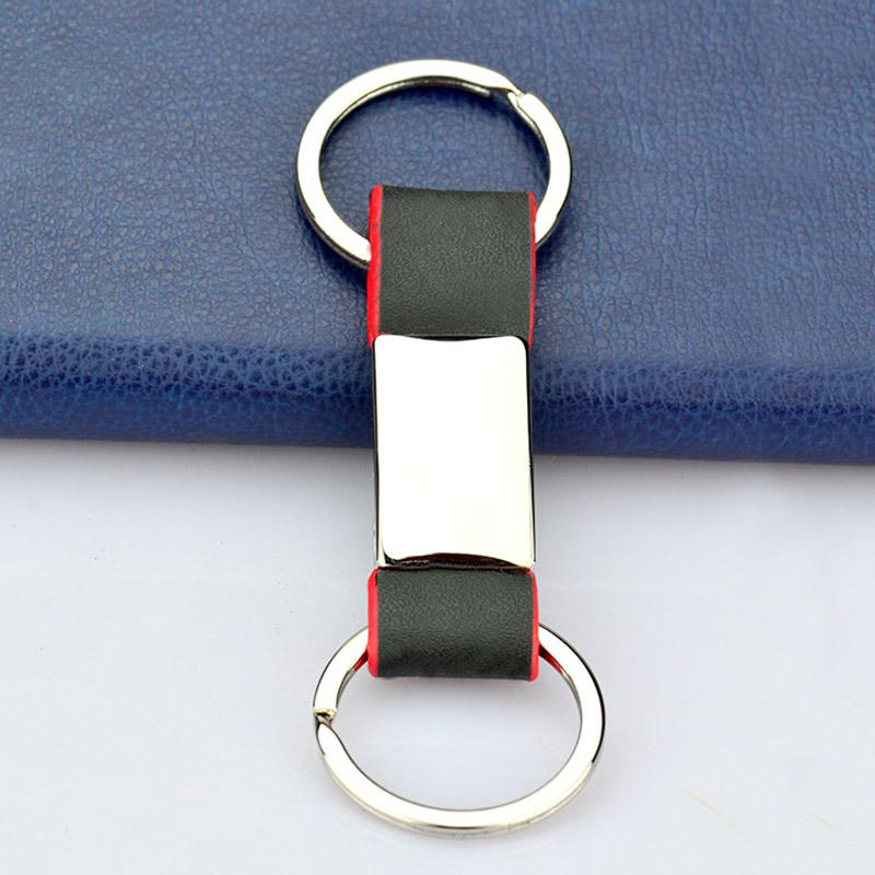 Wholesale Promotion Custom Cheap Bulk Leather Key Ring