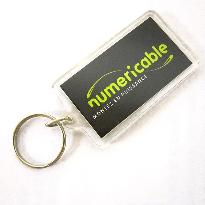 Custom Bulk Blank Company Business Advertising Keychains