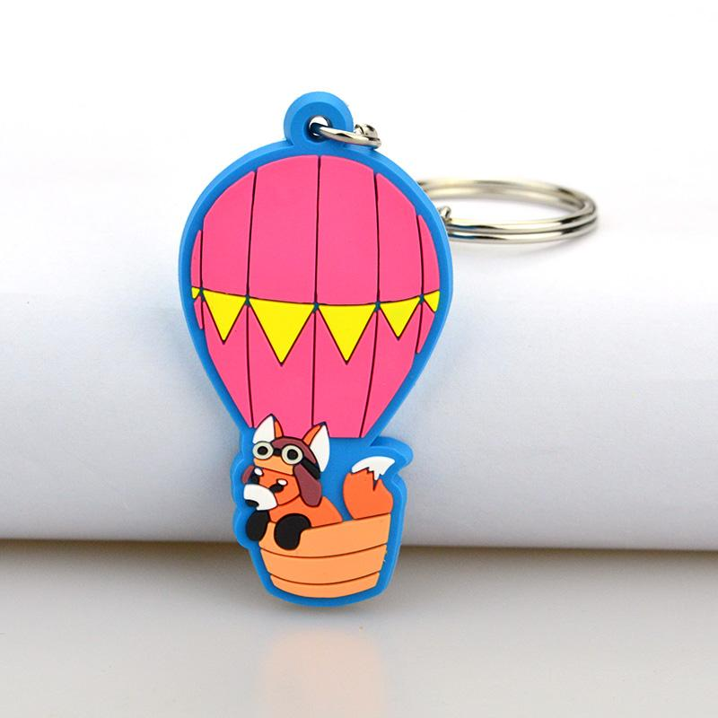 Cheap Large Bulk Custom Pvc Your Own Designer Keychains