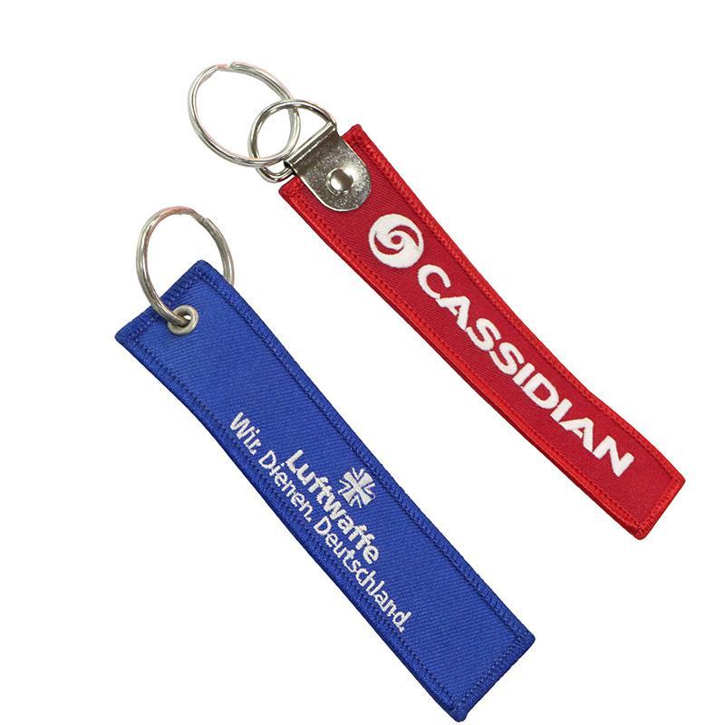 Artigifts China Wholesale Custom Bulk Cheap Fabric Key Chain