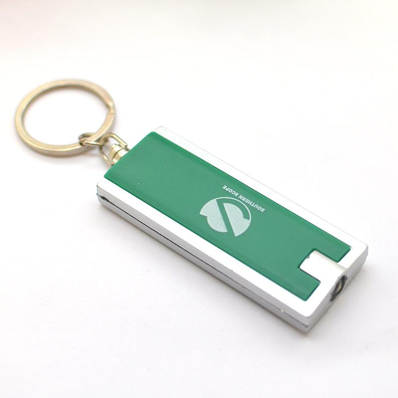 New Fashion Custom Bulk Metal Led Keychain Flashlight