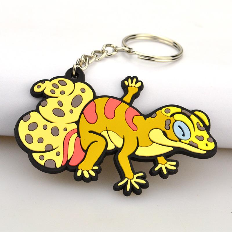 Hot Sale Cheap Pvc Rubber Novelty Keychain Printing
