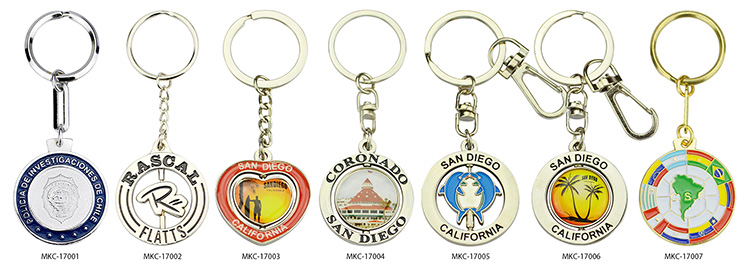 Rubber Key Holder Souvenirs