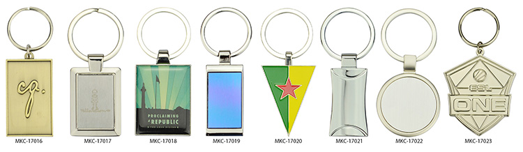Medal Keychain Key Ring