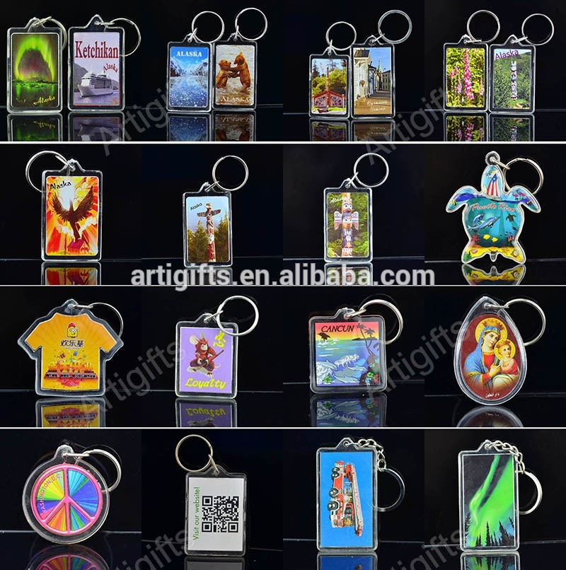 anime acrylic keyrings