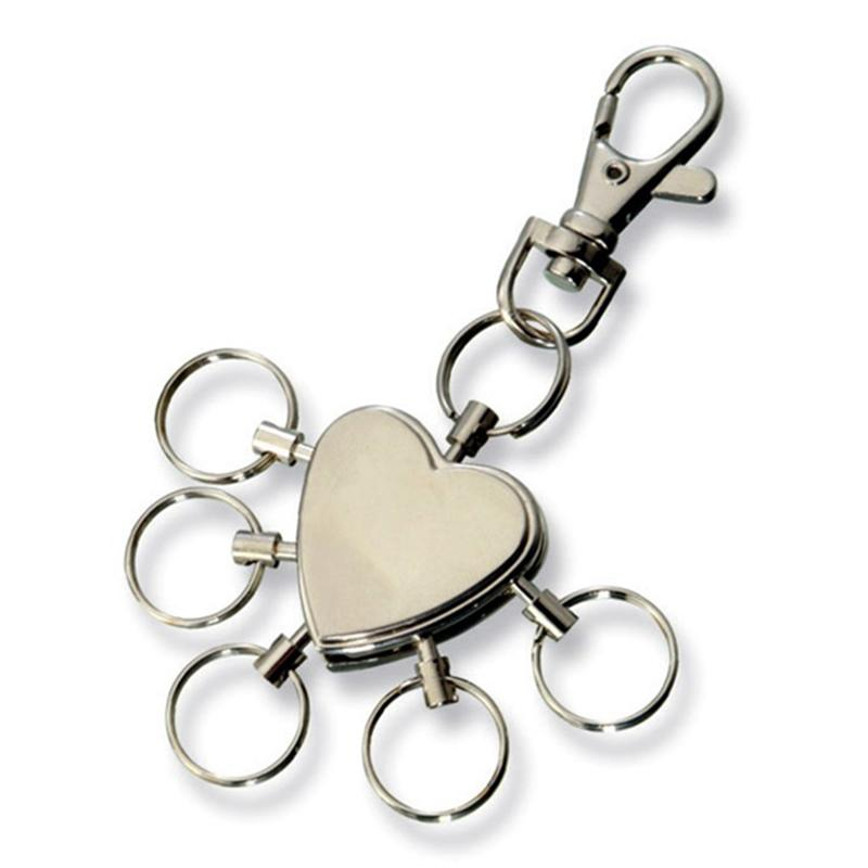 Metal Multifunction Personalized Advertising Keyring