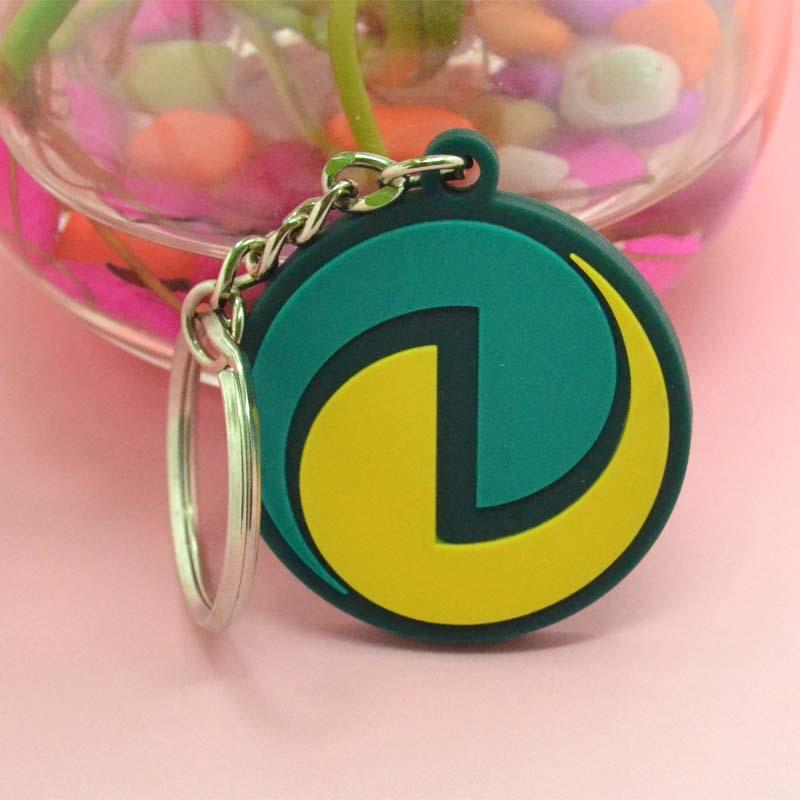 Factory Direct No Minimum Bulk Plastic Keyrings Charms Wholesale