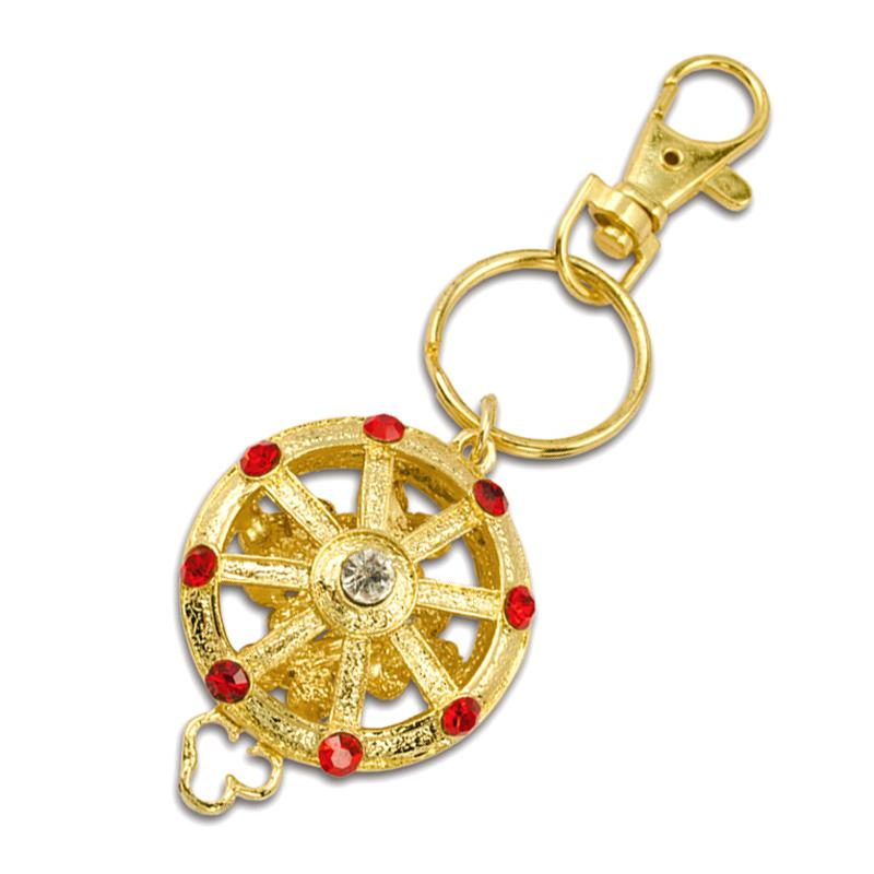 Wholesale Metal Jewelry Mouse Keychain With Diamond
