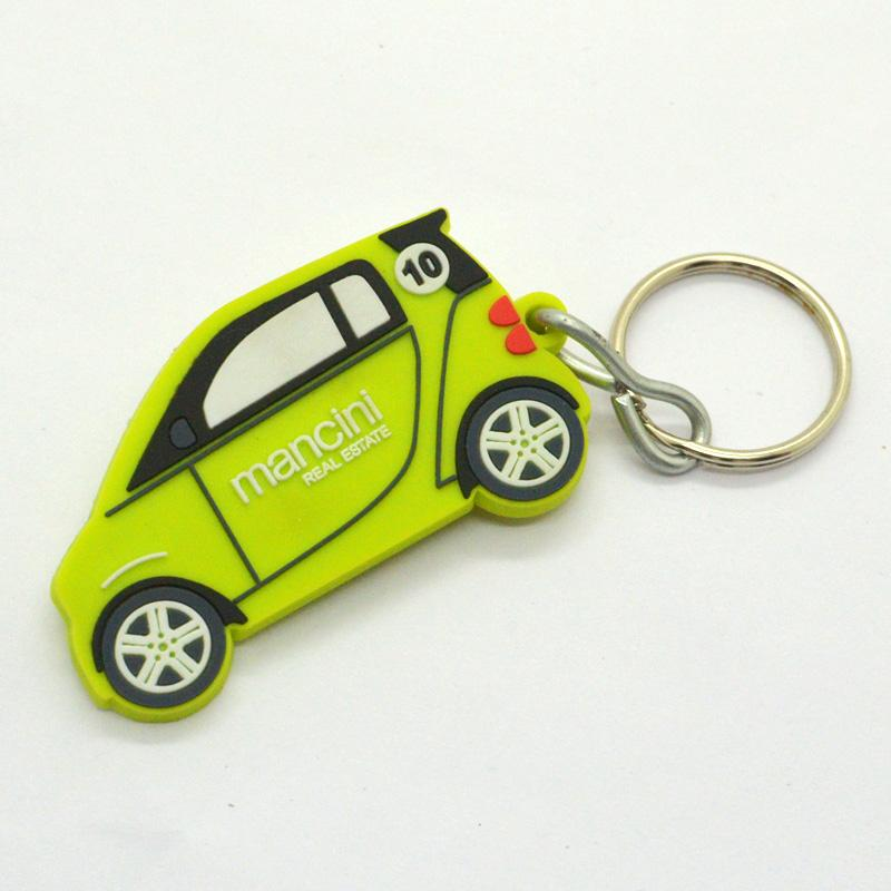 Key Chain Manufacturer Custom Pvc Rubber Car Keychain
