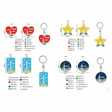 Personalized keychains orders deal process smoothly from Korea customer