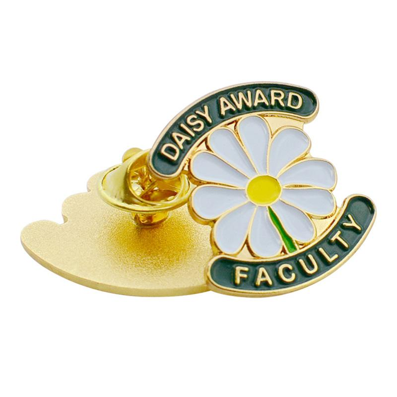 Pin Oem Supplier Customized Free Sample Flower Lapel Pin