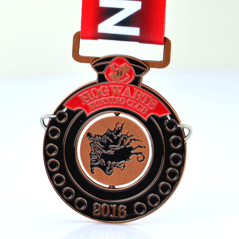 China Artigifts Factory Bulk Custom Design Low Price Cycling  Medal