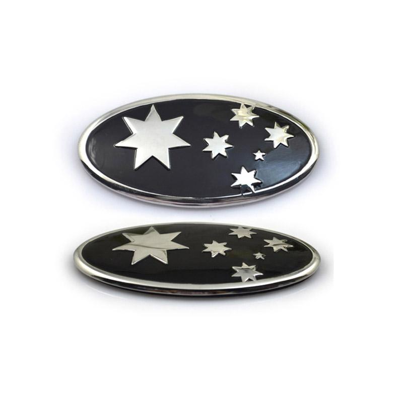 Artigifts Cheap Personalize Custom Logo Plated Car Grill Badges