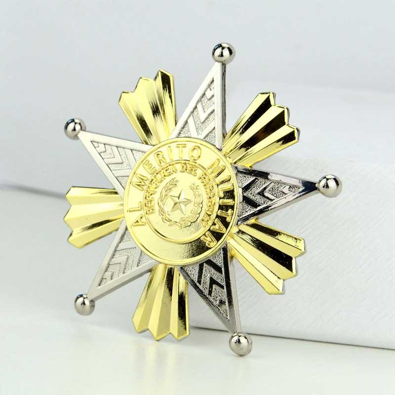 Artigifts Factory Price Plating Custom Logo Sheriff Star Badge - Pin