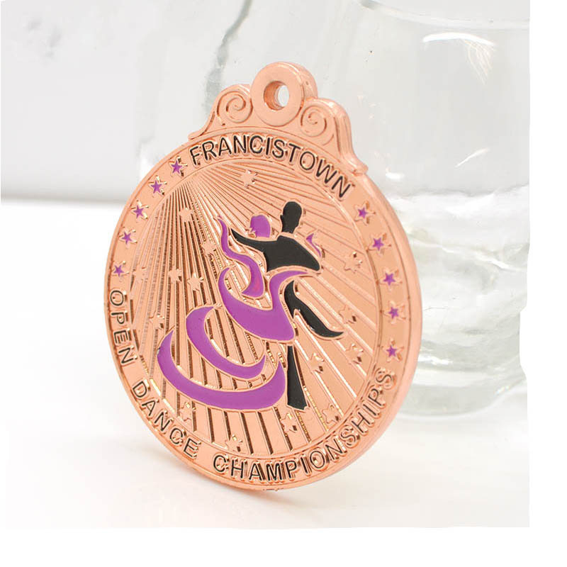 Odm Supplier Personalized High Quality China Factory Dance Medals