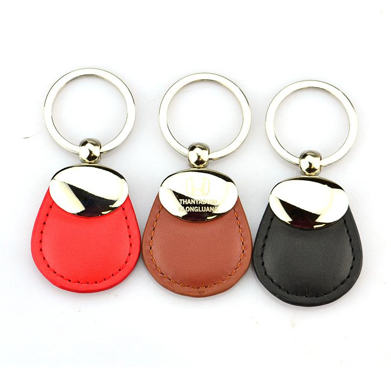 Keychain Maker Wholesale Custom Bulk Leather Key Ring For Car