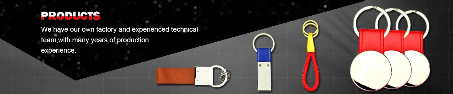 Keychain Maker Wholesale Custom Bulk Leather Key Ring For Car - Leather Keychain