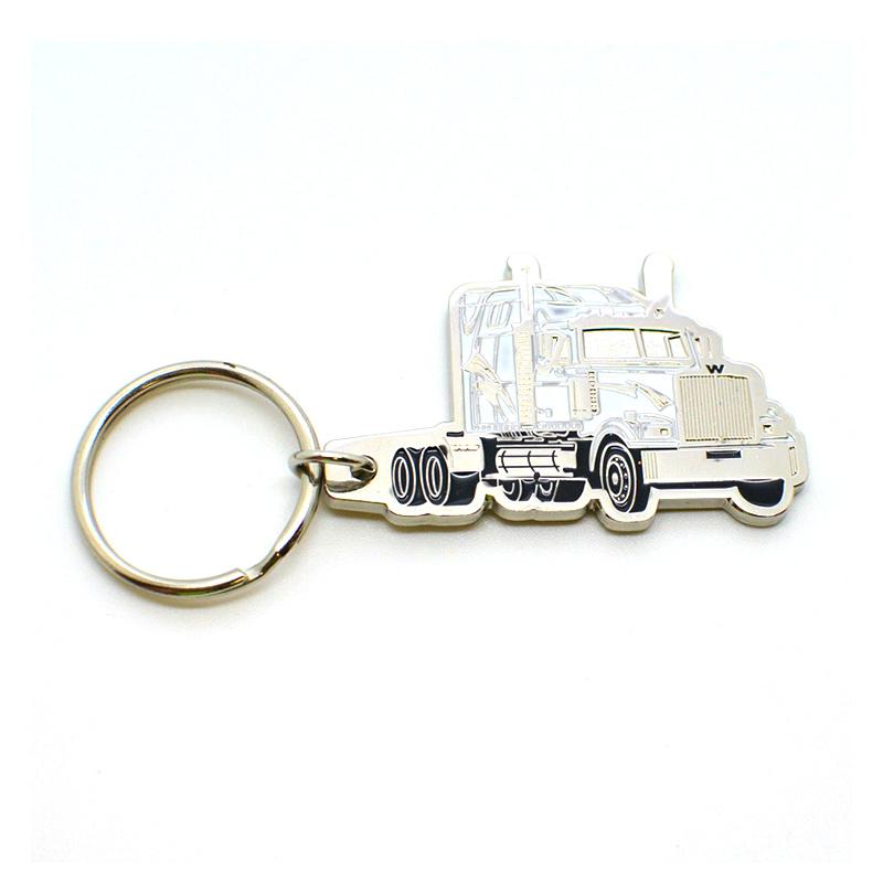 Artigifts Keychain Supplier Custom Enamel Metal Truck Keychain