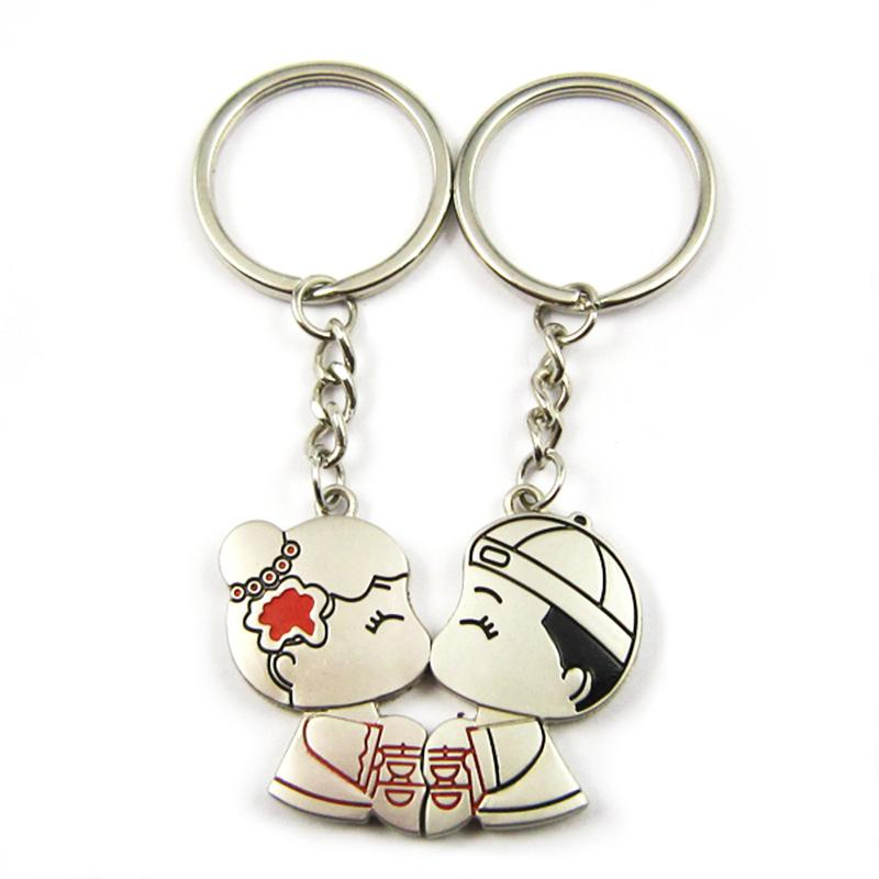Customized Bulk Couple Key Chain Tiny Spoon Keyring Wholesale Uk