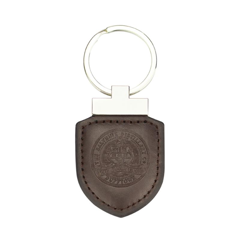 Wholesale Keychain Custom Bulk Pu Genuine Leather Keychain