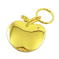 Artigifts Custom Cheap Gold Plated Purse Hook Holder Hanger Keychain