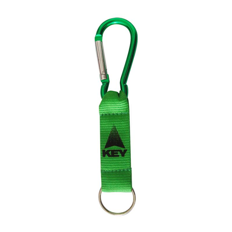 Wholesale Keychains Custom Logo Short Lanyard Carabiner Keyrings