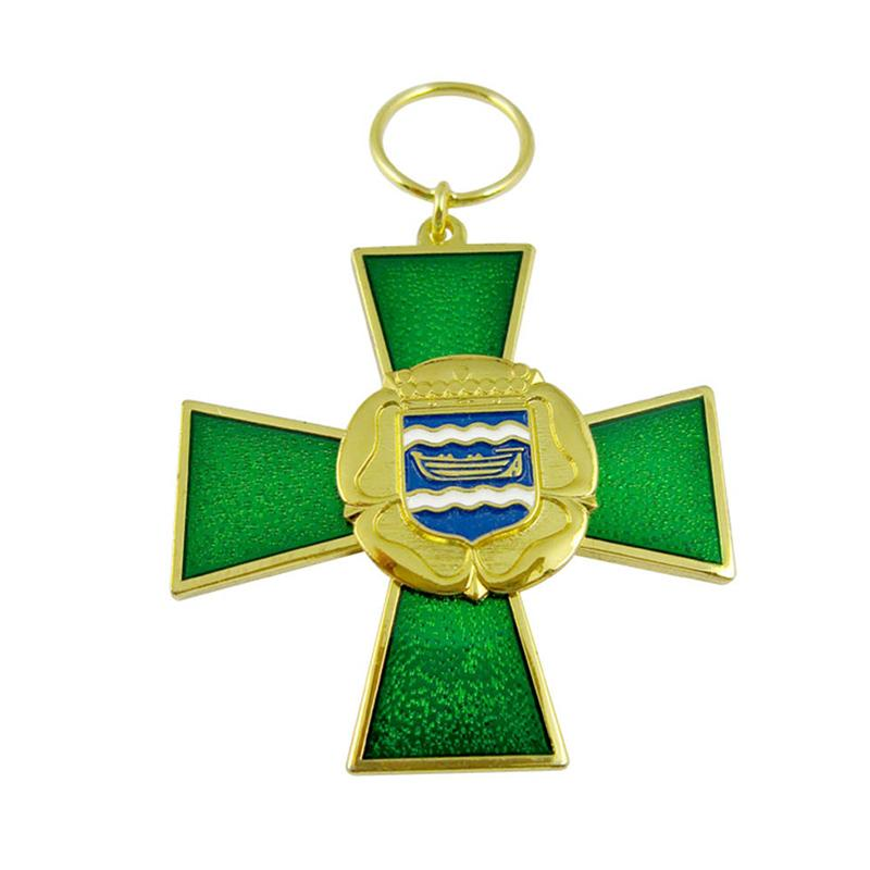 Wholesale Keychains Custom Bulk Cheap Metal Enamel Cross Key Chain