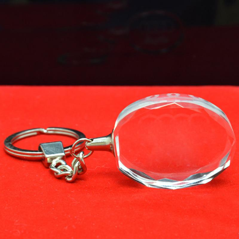 Artigifts Factory Design Your Own Crystal Keychain Laser Key Chain