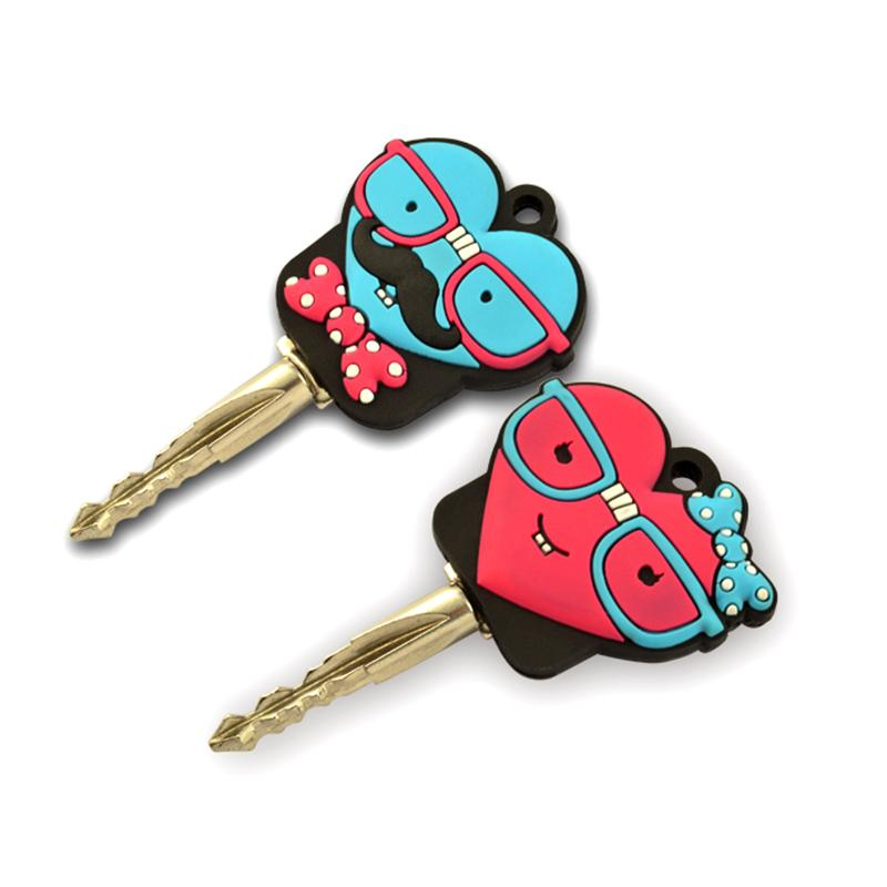 Artigifts Keychains Factory Wholesale Cheap Silicone Car Key Cover