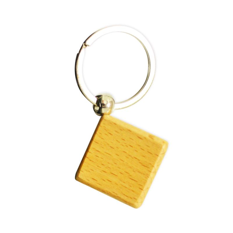 Wholesale Keychains Factory Custom Bulk Cheap Wooden Key Holder