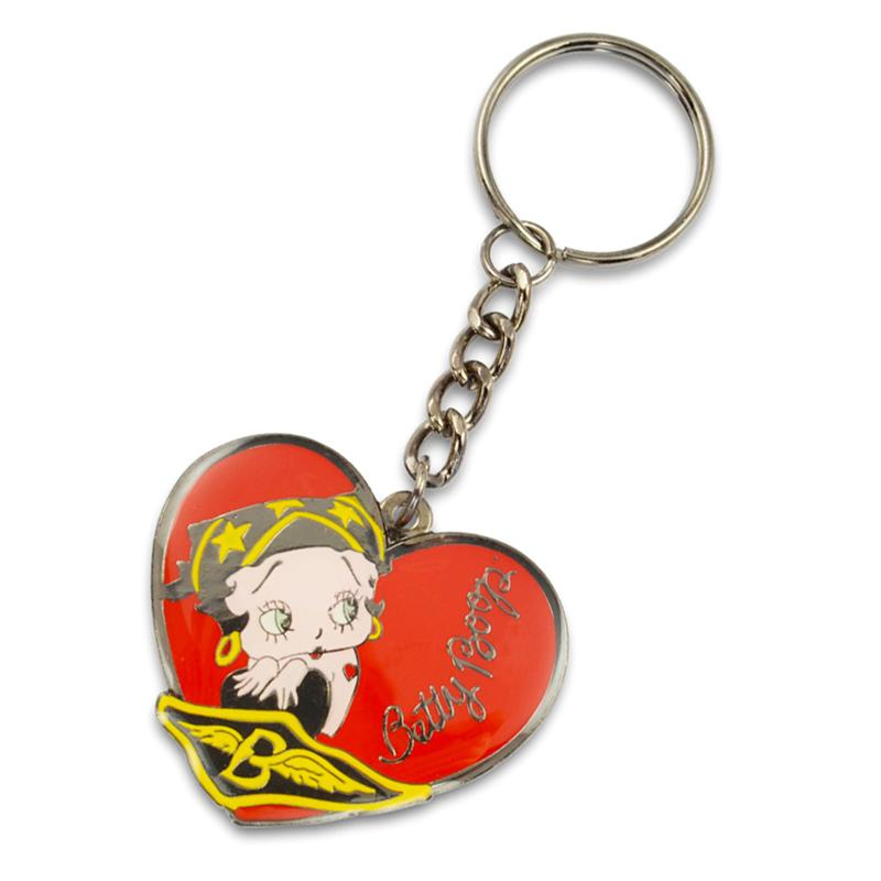 China Manufacturer Cusotm Design Your Own Metal Keychain Heart