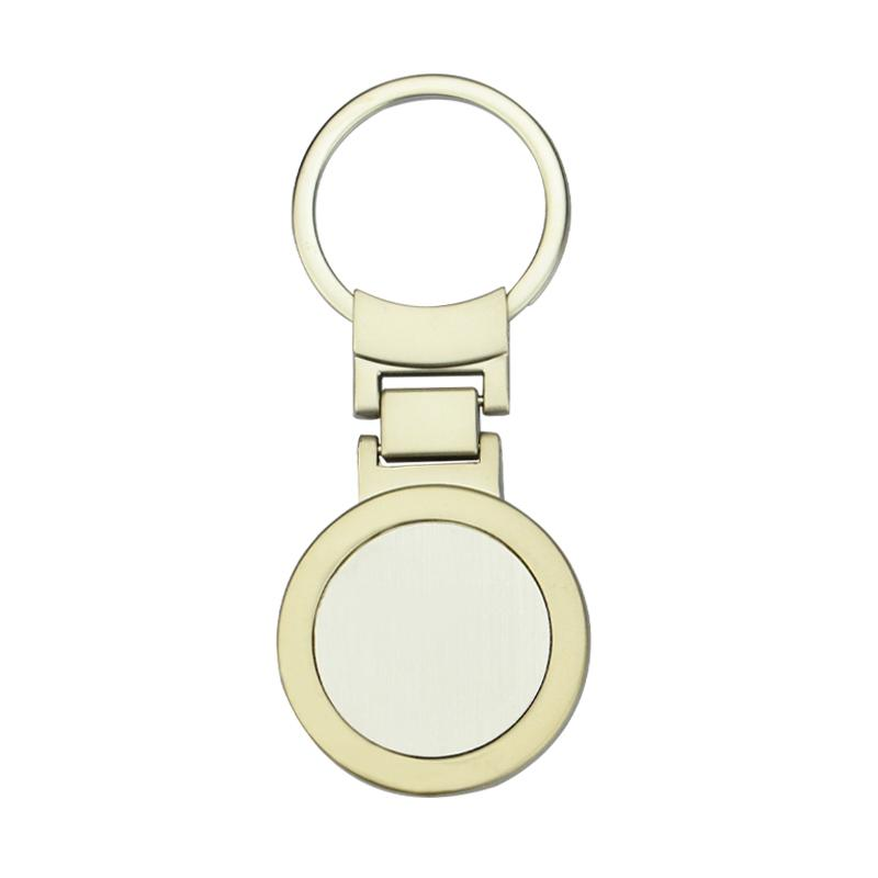 Keychains Factory Promotional Bulk Cheap Metal Keyrings Blank