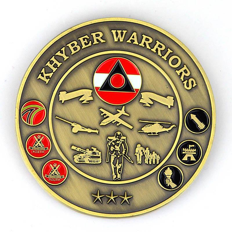 No Minimum Customized Design Your Own Metal Challenge Coin