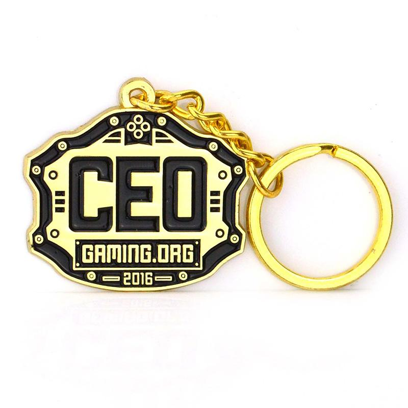 Key Chain Maker Supplier Bulk Cheap Metal Custom Logo Keyrings