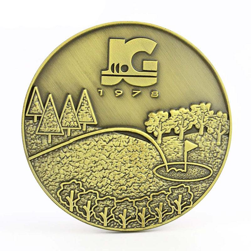 Coin Factory Supplier No Minimum Wholesale Custom Metal Coin