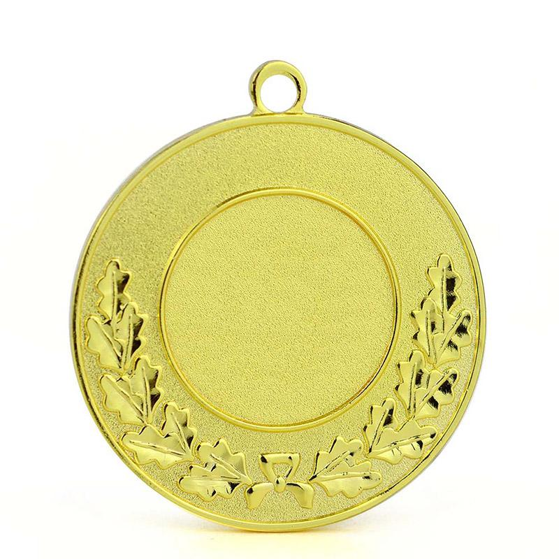 Custom Design Your Own Metal Gold Plated Sports Blank Medal