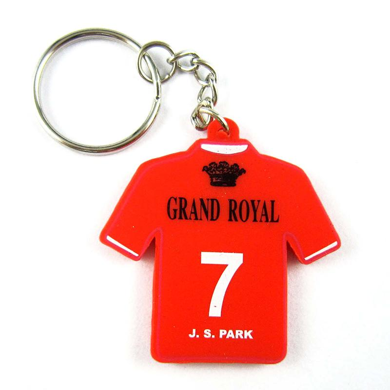 Odm Supplier Keychain Custom T-Shirt Soft Pvc Rubber Keyholder