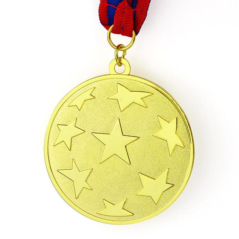Trophy Factory Custom Metal Military Coin Medal With Ribbon