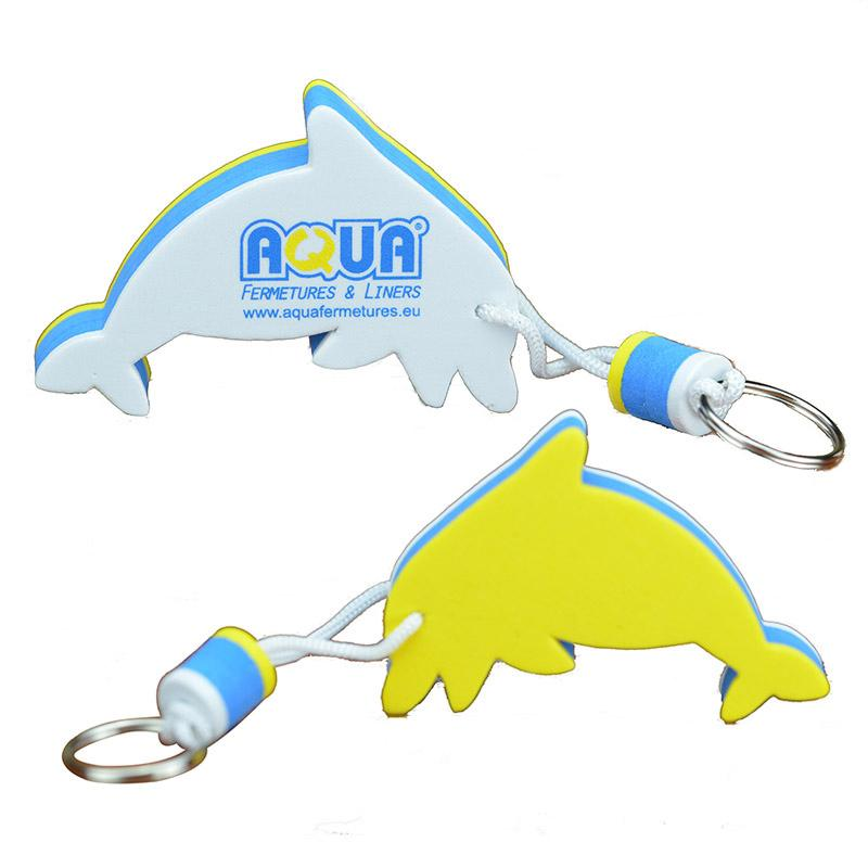 Factory Bulk Cheap Printed Cusotm Logo Eva Floating Key Ring