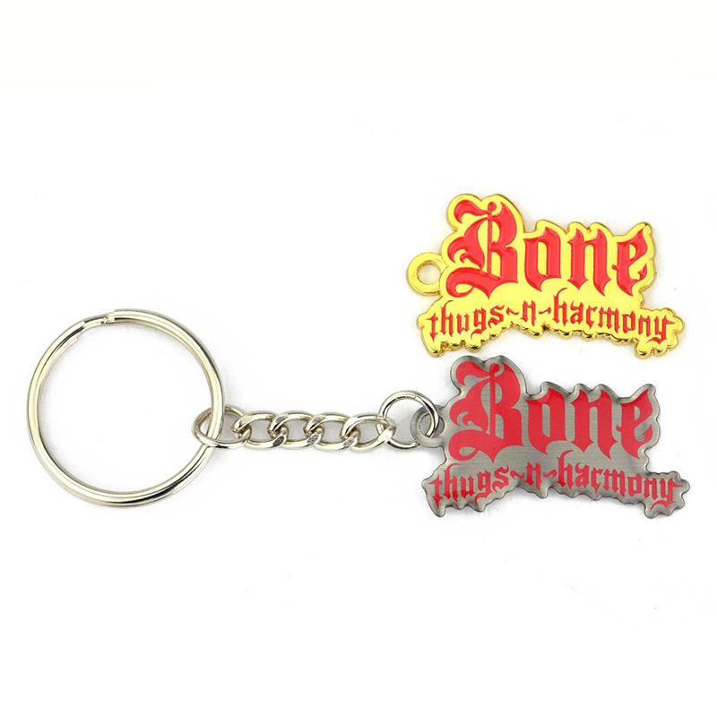 Personalised Custom Bulk Metal Alphabet Keychain Dubai Key Ring