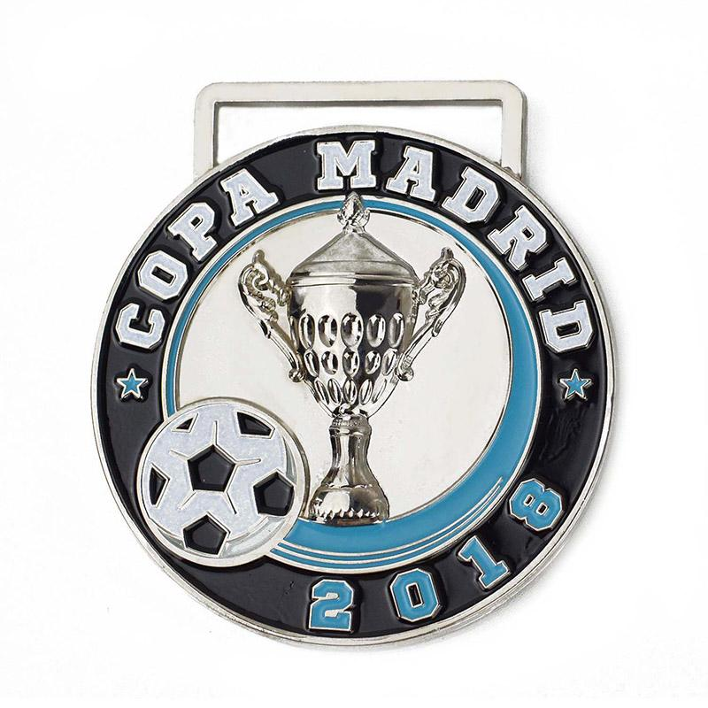 Artigifts Custom Trophy Enamel Sports Metal Football Medal