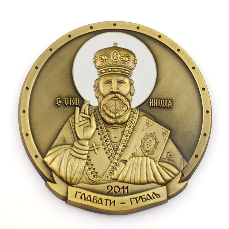 No Minimum Custom Metal Antiqu Bronze Souvenir Coin Die